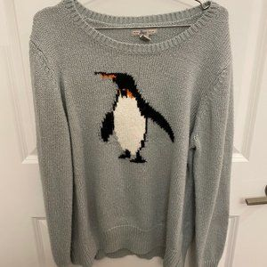 GH Bass and Co Penguin Sweater